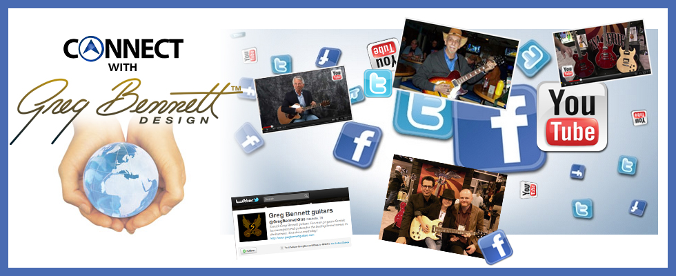 Connect with Greg Bennett Guitars